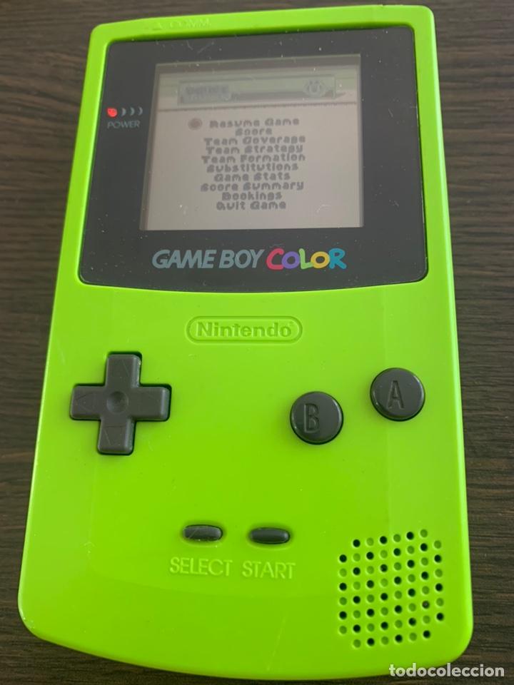 CONSOLA DE 1998 GAME BOY COLOR DE NINTENDO VERDE FUNCIONANDO GAMEBOY (Juguetes - Videojuegos y Consolas - Nintendo - GameBoy Color)