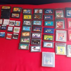 Videojuegos y Consolas: LOTE DE JUEGOS GAME BOY COLOR -GAME BOY ADVANCE Y NINTENDO DS .VER FOTOS. Lote 210646975