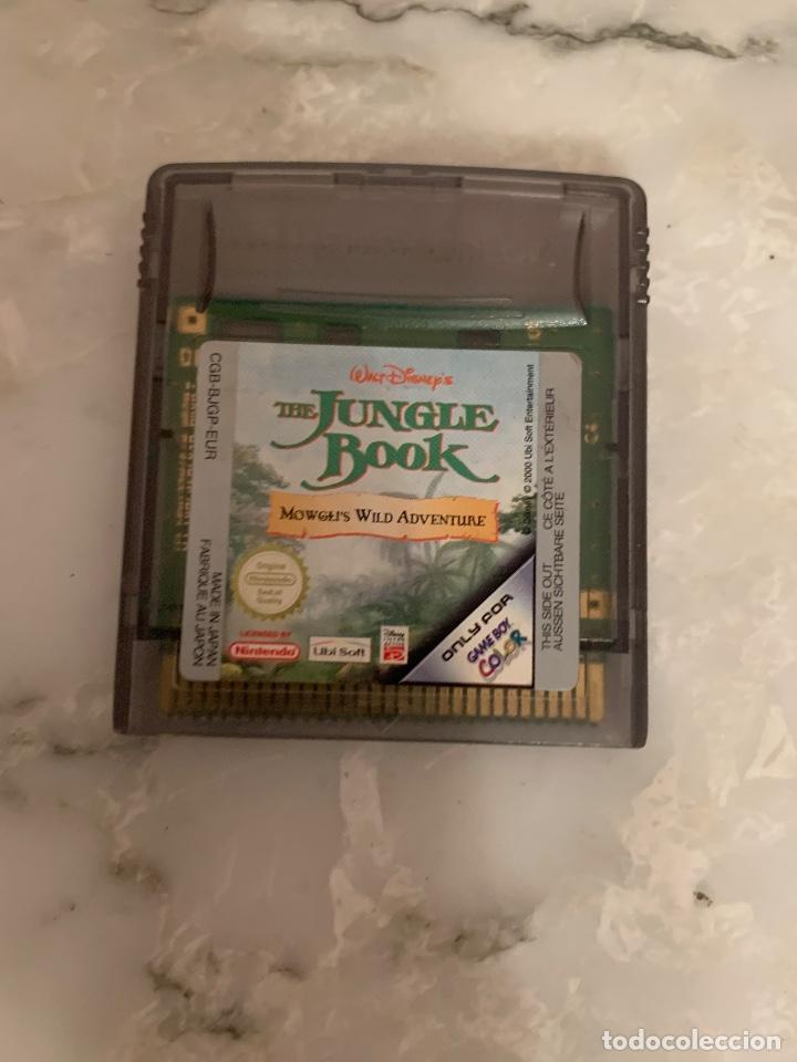 JUEGO JUNGLE BOOK (Juguetes - Videojuegos y Consolas - Nintendo - GameBoy Color)
