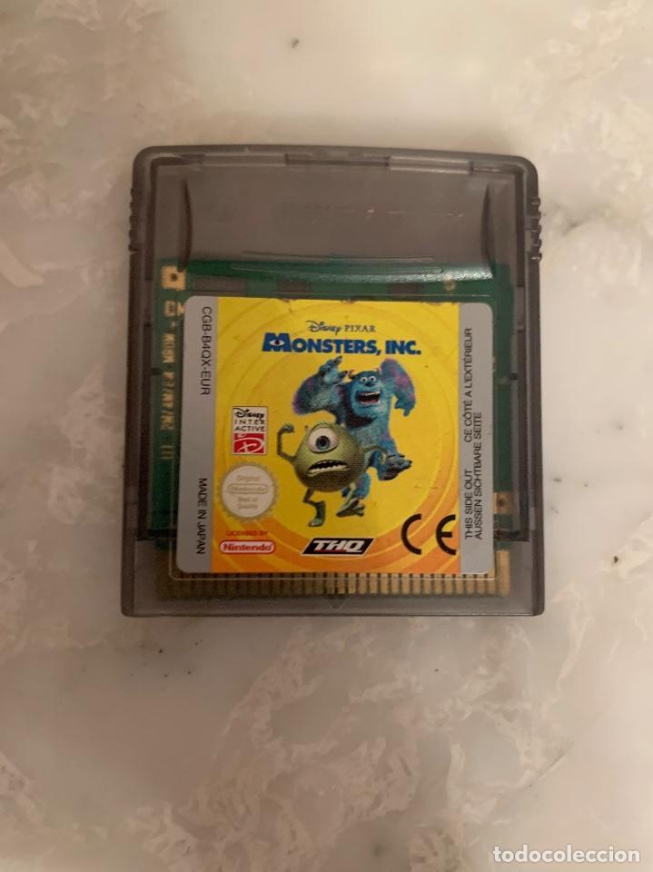 JUEGO MONSTERS INC (Juguetes - Videojuegos y Consolas - Nintendo - GameBoy Color)