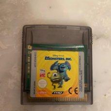 Videojuegos y Consolas: JUEGO MONSTERS INC. Lote 210956504