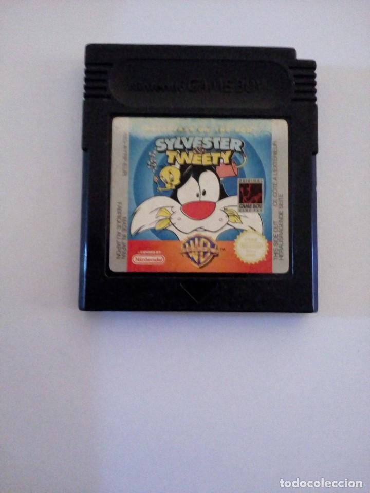 JUEGO NINTENDO GAME BOY SYLVESTER TWEETY (Juguetes - Videojuegos y Consolas - Nintendo - GameBoy Color)