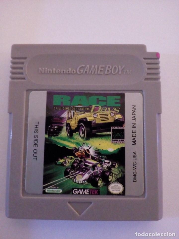 JUEGO NINTENDO GAME BOY RACE DAYS (Juguetes - Videojuegos y Consolas - Nintendo - GameBoy Color)