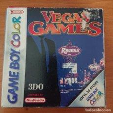 Videojuegos y Consolas: VEGAS GAMES GAME BOY COLOR ESPAÑOL COM`PLETO. Lote 212493093
