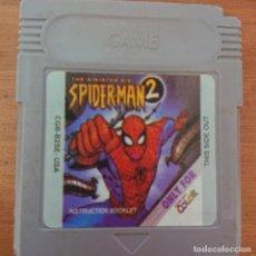 Videojuegos y Consolas: SPIDER-MAN 2 GAME BOY COLOR CARTUCHO. Lote 212710028
