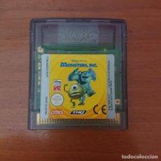 Videojuegos y Consolas: MONSTERS INC GAME BOY COLOR CARTUCHO. Lote 213790908