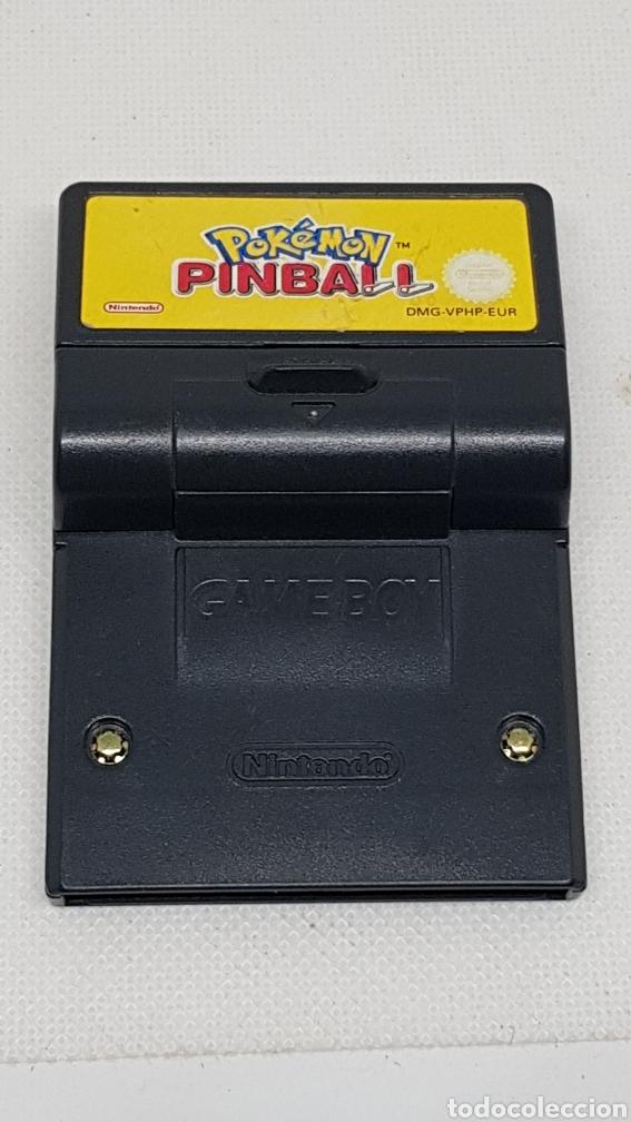 Videojuegos y Consolas: POKEMON PINBALL NINTENDO GAME BOY COLOR - Foto 2 - 214020672