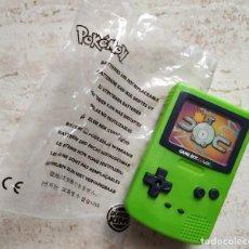 Videojuegos y Consolas: JUEGO INFANTIL BURGER KING POKEMON MINI GAME BOY (AÑO 2000). INCOMPLETO. Lote 214158342