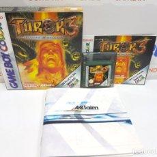 Videojuegos y Consolas: TUROK 3 SHADOW OF OBLIVION NINTENDO GAMEBOY COLOR GAME. Lote 214392880