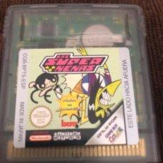 Videojuegos y Consolas: JUEGO NINTENDO GAME BOY COLOR LAS SUPER NENAS. Lote 214545461