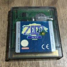 Videojuegos y Consolas: CARTUCHO JUEGO THE LEGEND OF ZELDA ORACLE OF AGES GAME BOY COLOR. Lote 214758478