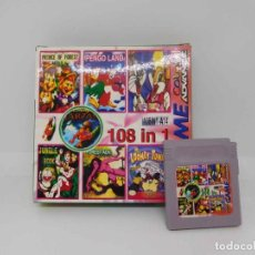 Videojuegos y Consolas: M69 JUEGO FOR GAME COLOR ADVANCE NINTENDO 108 EN 1 (VER DESCRIPCION). Lote 38027709
