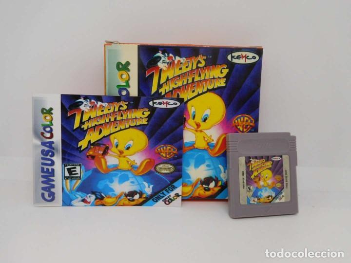 M69 JUEGO FOR GAME USA COLOR NINTENDO TWEETYS HIGHFLYING ADVENTURE (Juguetes - Videojuegos y Consolas - Nintendo - GameBoy Color)