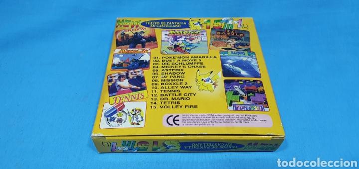 Videojuegos y Consolas: CAJA PARA JUEGO - GAME BOY- POKEMON 15 in 1 - Foto 2 - 217683642