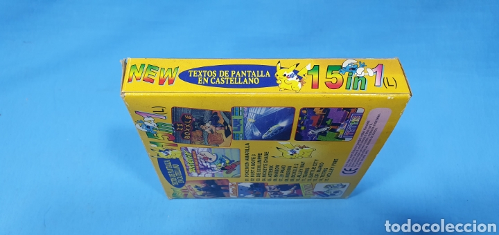 Videojuegos y Consolas: CAJA PARA JUEGO - GAME BOY- POKEMON 15 in 1 - Foto 3 - 217683642