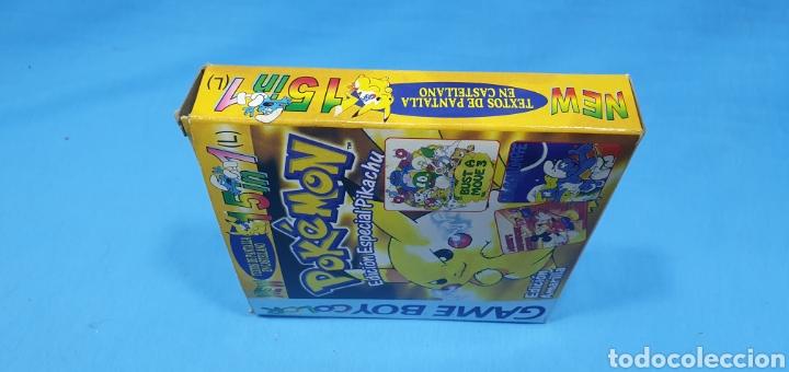 Videojuegos y Consolas: CAJA PARA JUEGO - GAME BOY- POKEMON 15 in 1 - Foto 4 - 217683642