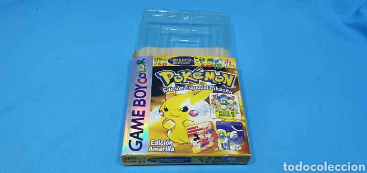 Videojuegos y Consolas: CAJA PARA JUEGO - GAME BOY- POKEMON 15 in 1 - Foto 5 - 217683642