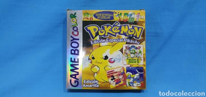 CAJA PARA JUEGO - GAME BOY- POKEMON 15 IN 1 (Juguetes - Videojuegos y Consolas - Nintendo - GameBoy Color)