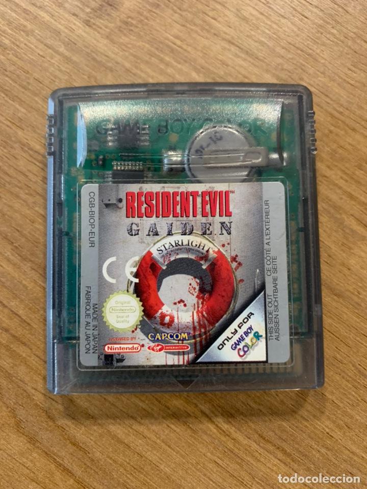 JUEGO RESIDENT EVIL GAIDEN GAME BOY COLOR (Juguetes - Videojuegos y Consolas - Nintendo - GameBoy Color)