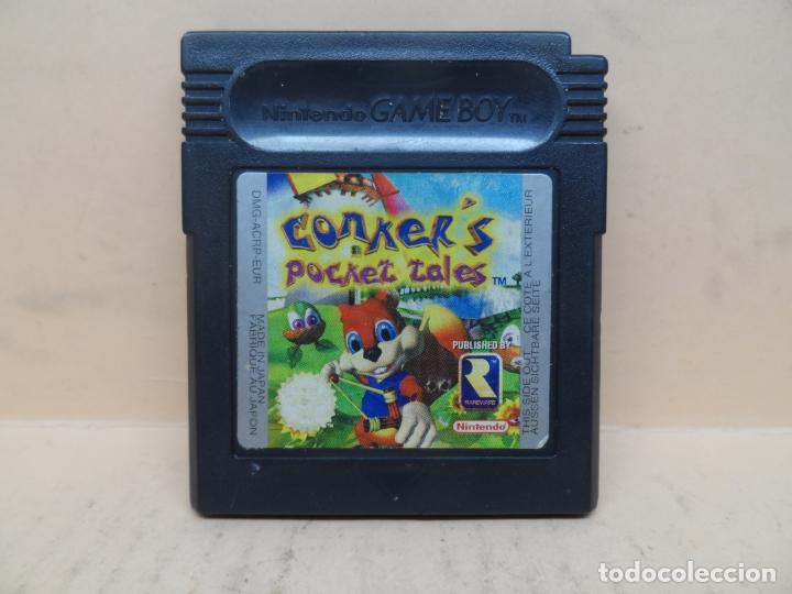 NINTENDO GAMEBOY COLOR CONKER'S POCKET TALES PAL (Juguetes - Videojuegos y Consolas - Nintendo - GameBoy Color)