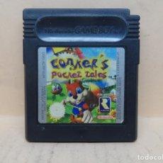 Videojuegos y Consolas: NINTENDO GAMEBOY COLOR CONKER'S POCKET TALES PAL. Lote 218353945