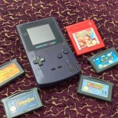 Videojuegos y Consolas: GAME BOY COLOR CON JUEGOS . FUNCIONA. VER FOTOS. Lote 218556773