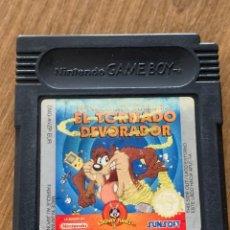 Videojuegos y Consolas: EL DEMONIO DE TAZMANIA GAMEBOY COLOR. Lote 218651340