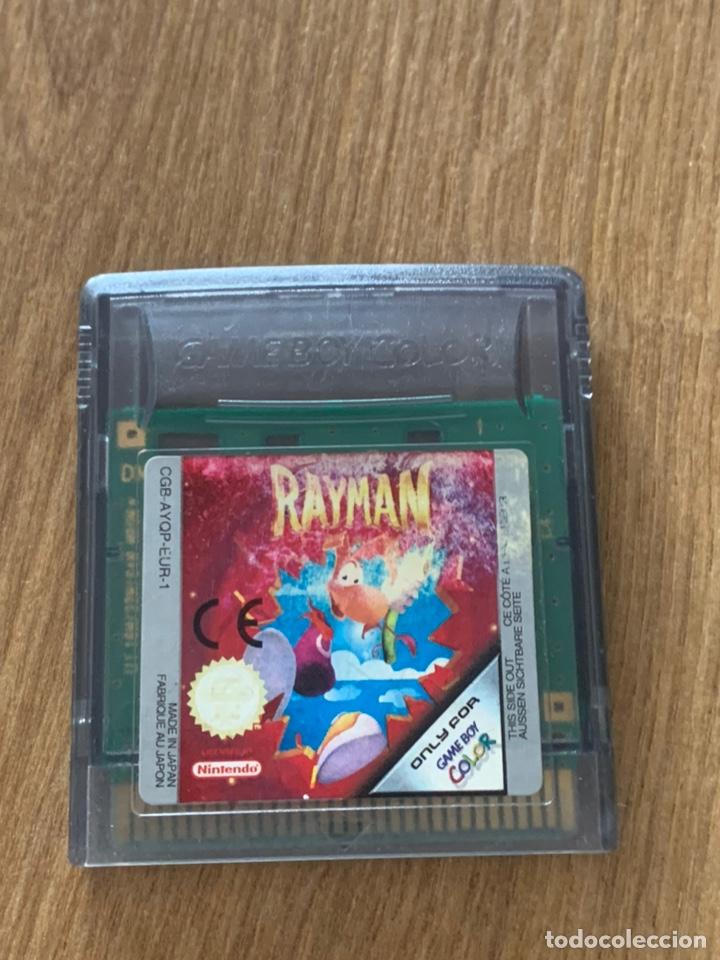 RAYMAN GAMEBOY COLOR (Juguetes - Videojuegos y Consolas - Nintendo - GameBoy Color)