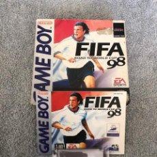 Videojuegos y Consolas: FIFA ROAD TO WORLD CUP '98 NINTENDO GAMEBOY COLOR COMPLETO. Lote 219279510