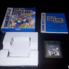 Videojuegos y Consolas: JUEGO SUPER MARIO BROS DELUXE PARA GAMEBOY GAME BOY COLOR EN CAJA E INSTRUCCIONES. Lote 220094026