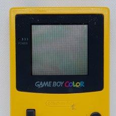 Videojuegos y Consolas: CONSOLA NINTENDO GAME BOY COLOR AMARILLA. Lote 220949538