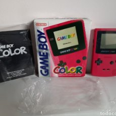 Videojuegos y Consolas: CONSOLA PORTATIL NINTENDO GAMEBOY GAME BOY COLOR ROSA. Lote 221473291