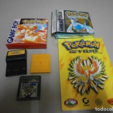 Videojuegos y Consolas: LOTE DE JUEGOS CAJAS Y MANUAL GAME BOY COLOR POKEMON SUPER MARIO DELUXE. Lote 221684070