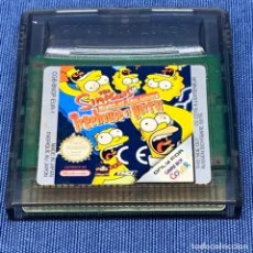 Videojuegos y Consolas: VIDEOJUEGO NINTENDO - GAME BOY COLOR - THE SIMPSONS TREEHOUSE OF HORROR - SOLO CARTUCHO - EUR. Lote 221931777