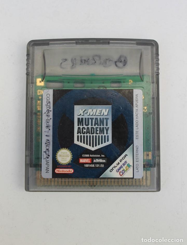 GAME BOY - X-MEN MUTANT ACADEMY (Juguetes - Videojuegos y Consolas - Nintendo - GameBoy Color)