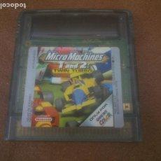 Videojuegos y Consolas: MICROMACHINES TWIN TURBO GAME BOY COLOR. Lote 223871810
