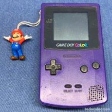 Jeux Vidéo et Consoles: CONSOLA PORTATIL - GAME BOY COLOR - FUNCIONA PERFECTAMENTE - AZUL. Lote 226775850