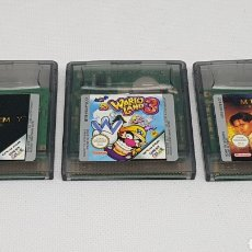 Videojuegos y Consolas: JUEGOS NINTENDO GAME BOY COLOR WARIO LAND 3 THE MUMMY THE MUMMY RETURNS. Lote 228598485