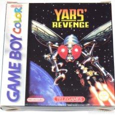 Videojuegos y Consolas: JUEGO GAMEBOY COLOR YARS' REVENGE NUEVO. Lote 229714105