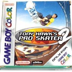 Videojuegos y Consolas: JUEGO GAMEBOY COLOR TONY HAWK'S PRO SKATER 2 NUEVO ( CON DAÑOS DE ALMACENAJE). Lote 229716305