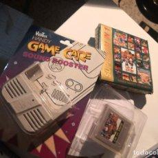 Videojuegos y Consolas: CARTUCHO COLECCIONABLE JUEGO 101 EN 1 GAME CLONICO NINTENDO GAME BOY 1994 + SOUND BOOSTER. Lote 230868710