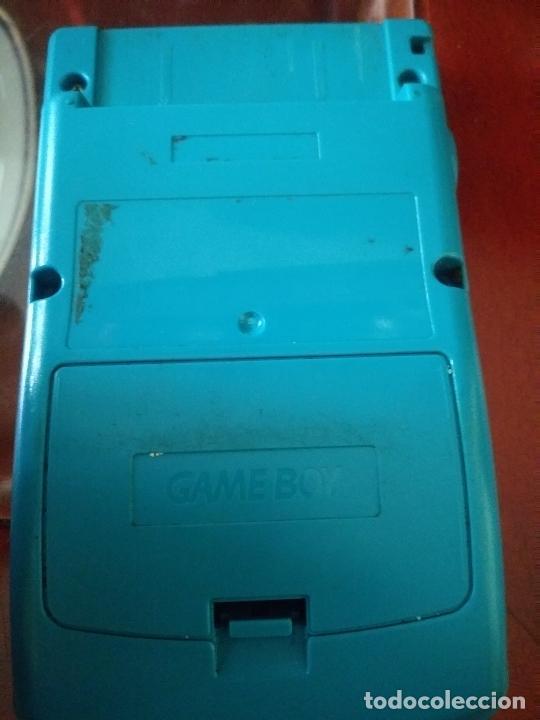 Videojuegos y Consolas: Game boy color verde turquesa funcionando - Foto 3 - 231005185