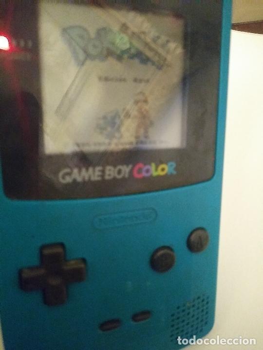 Videojuegos y Consolas: Game boy color verde turquesa funcionando - Foto 5 - 231005185