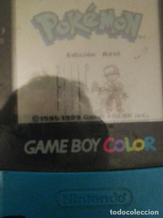 Videojuegos y Consolas: Game boy color verde turquesa funcionando - Foto 6 - 231005185