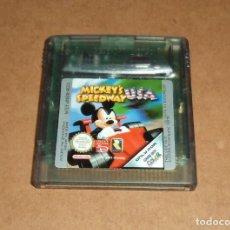 Videojuegos y Consolas: MICKEY'S SPEEDWAY USA PARA NINTENDO GAMEBOY COLOR / GBC, PAL. Lote 233592470