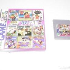 Videojuegos y Consolas: NINTENDO GAME BOY COLOR GBC SHIN CHAN CON CAJA ACHUCHADA. ENVIO GRATIS!!!. Lote 234727780
