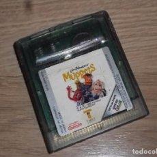 Videojuegos y Consolas: NINTENDO GAMEBOY COLOR JUEGO MUPPETS. Lote 235152285