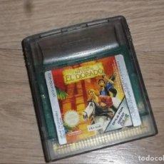 Videojuegos y Consolas: NINTENDO GAMEBOY COLOR JUEGO THE ROAD TO EL DORADO. Lote 235153225