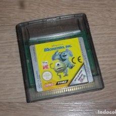 Videojuegos y Consolas: NINTENDO GAMEBOY COLOR JUEGO MONSTERS INC. Lote 235153395