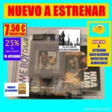 Videojuegos y Consolas: NBA JAM 99 - VIDEO JUEGO DE BALONCESTO PARA NINTENDO GAMEBOY COLOR - A ESTRENAR. Lote 234846590
